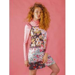 Strap Dress Floral Collage M