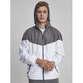 2-Tone Tech Windrunner darkgrey/wht XL