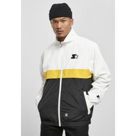Bunda Starter Three Toned Jogging White/black/golden bílá M