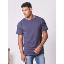 Tričko Dark Blue Dropped Shoulders modrá tmavá XL